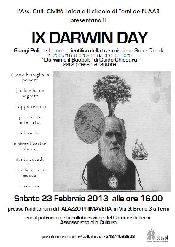 Buon compleanno Darwin, ancora!