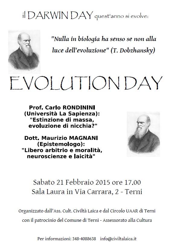 EVOLUTION DAY 2015