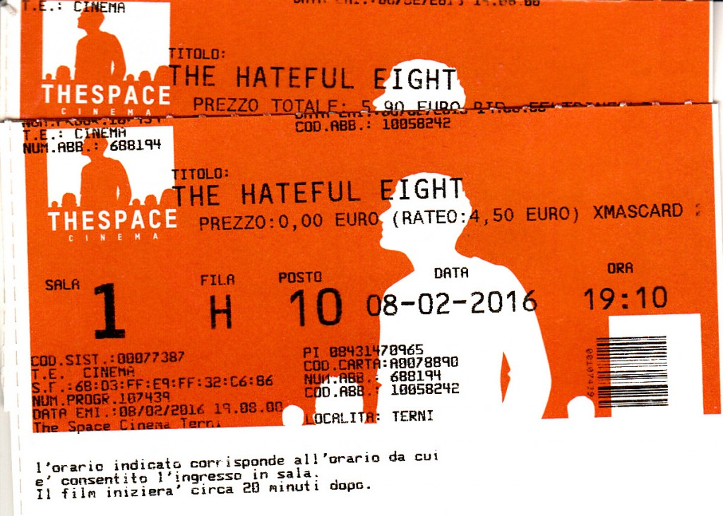 About: The hateful eight
