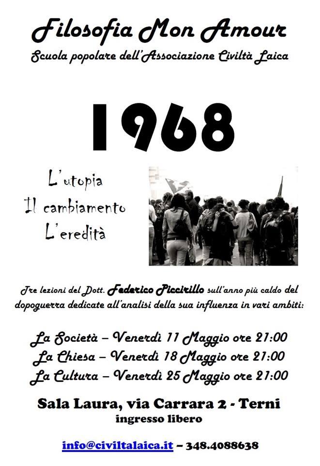 Filosofia mon Amour: il 1968