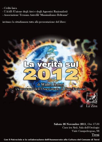 2012: la verità scientifica