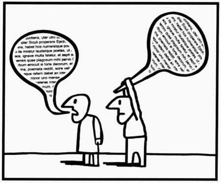 Se non siamo più in grado di riconoscere il dialogo