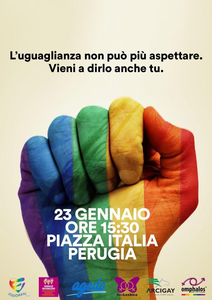 23 Gennaio a Perugia, per un Italia più civile