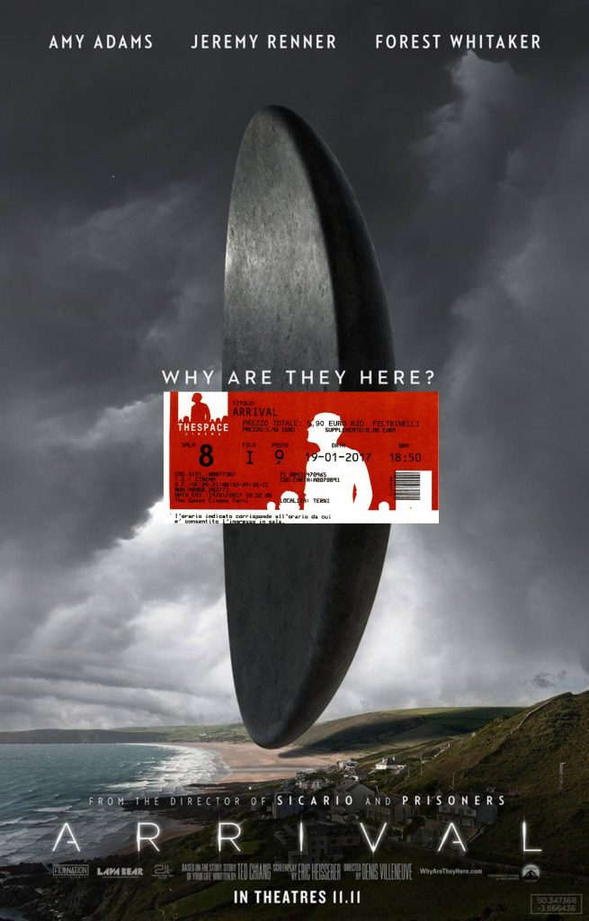 About: Arrival