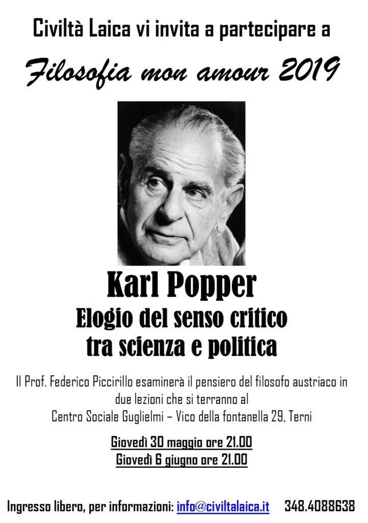 filosofia mon amour 2019: Karl Popper