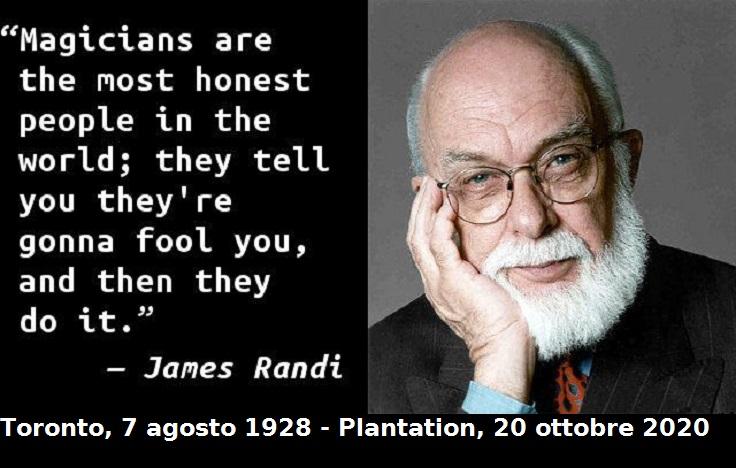 Addio a James Randi